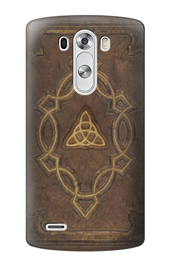 Printed Spell Book Cover LG G3 Case