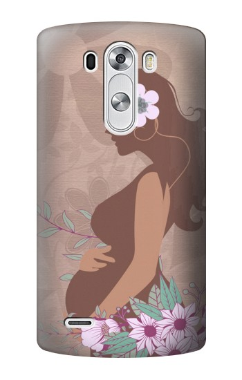 Printed Pregnant Mommy Baby LG G3 Case