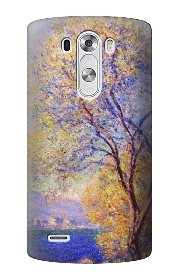 Printed Claude Monet Antibes Seen from the Salis Gardens LG G3 Case