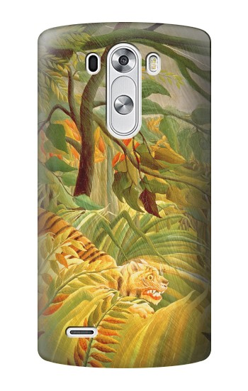 Printed Henri Rousseau Tiger in a Tropical Storm LG G3 Case