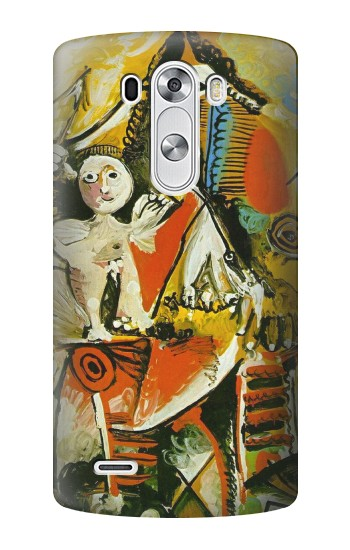 Printed Picasso Painting Cubism LG G3 Case