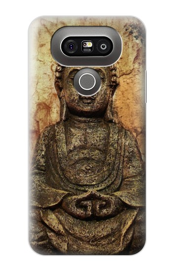 Printed Buddha Rock Carving LG G5 Case