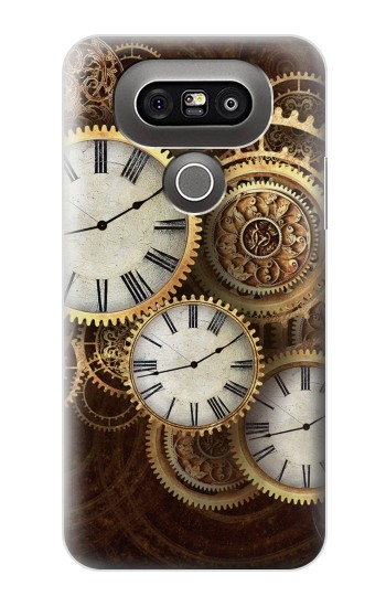 Printed Gold Clock Live LG G5 Case