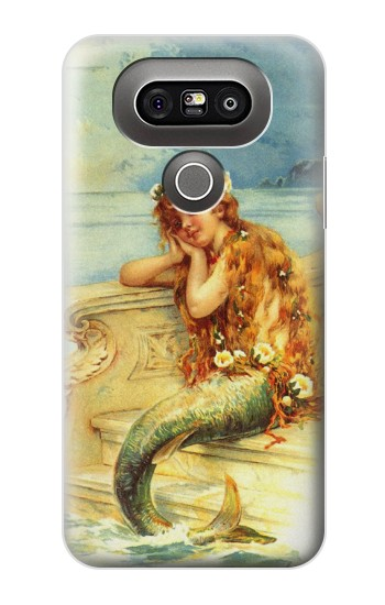 Printed Little Mermaid Painting LG G5 Case