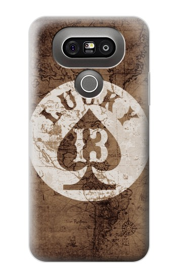 Printed Lucky 13 Old Map LG G5 Case