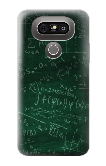 Printed Math Formula Greenboard LG G5 Case