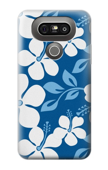 Printed Hawaii Blue Pattern LG G5 Case