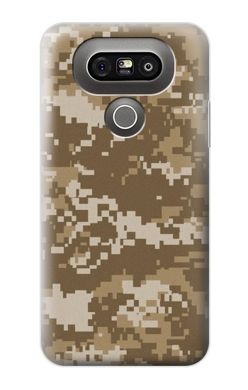 Printed Army Camo Tan LG G5 Case