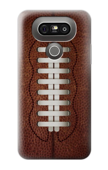 Printed Leather Vintage Football LG G5 Case