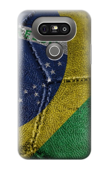 Printed Brazil Flag Vintage Football 2018 LG G5 Case