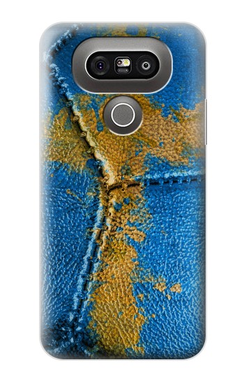 Printed Sweden Flag Vintage Football 2018 LG G5 Case