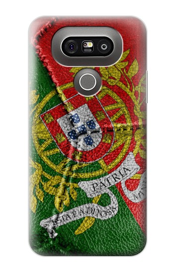 Printed Portugal Flag Vintage Football 2018 LG G5 Case