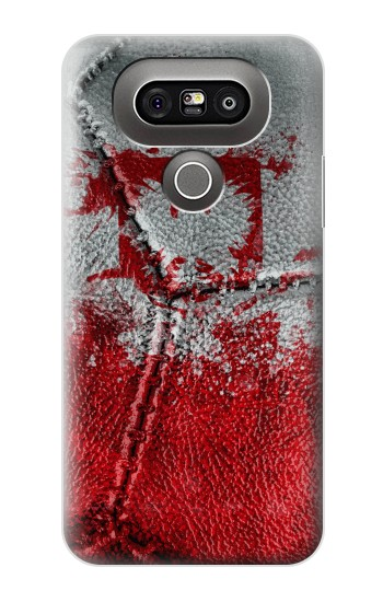 Printed Poland Flag Vintage Football 2018 LG G5 Case
