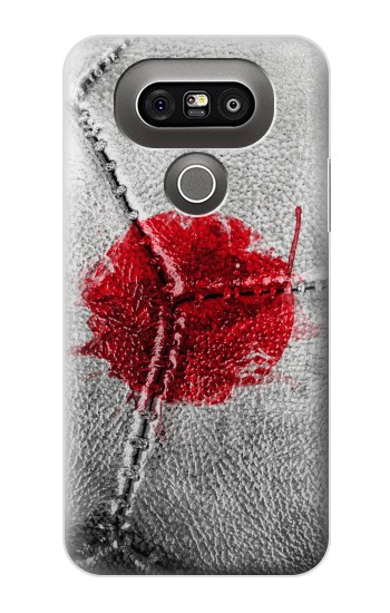 Printed Japan Flag Vintage Football 2018 LG G5 Case