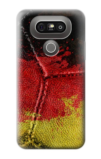 Printed Germany Flag Vintage Football 2018 LG G5 Case