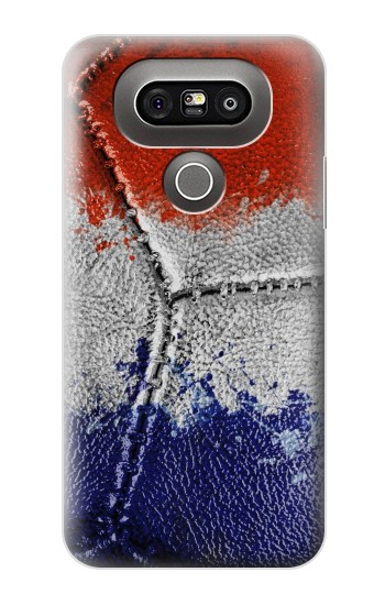 Printed France Flag Vintage Football 2018 LG G5 Case