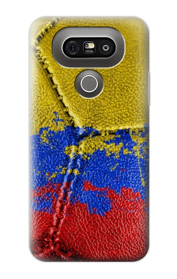 Printed Colombia Flag Vintage Football 2018 LG G5 Case