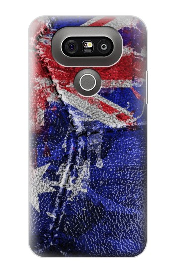 Printed Australia Flag Vintage Football 2018 LG G5 Case