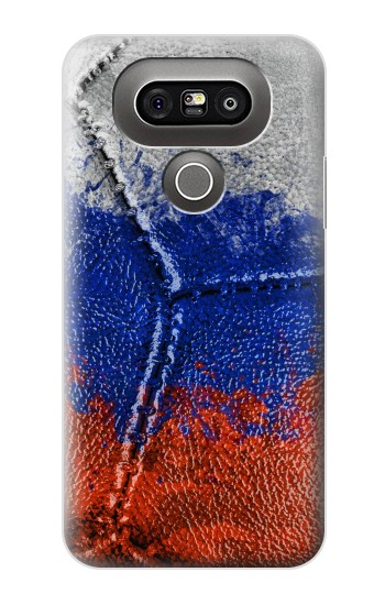 Printed Russia Flag Vintage Football 2018 LG G5 Case