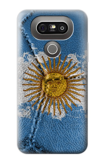 Printed Argentina Flag Vintage Football 2018 LG G5 Case
