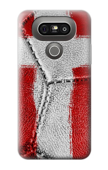 Printed Denmark Flag Vintage Football 2018 LG G5 Case