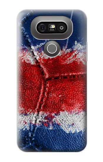 Printed Costa Rica Flag Vintage Football 2018 LG G5 Case