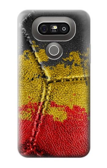 Printed Belgium Flag Vintage Football 2018 LG G5 Case