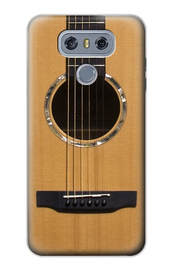 Printed Acoustic Guitar alcatel Hero 2 Case
