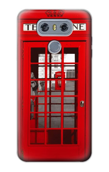 Printed Classic British Red Telephone Box alcatel Hero 2 Case