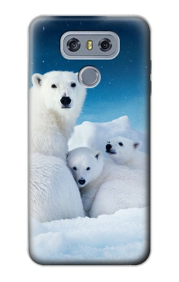 Printed Polar Bear Family Arctic alcatel Hero 2 Case