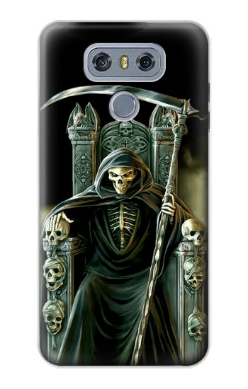 Printed Grim Reaper Skeleton King alcatel Hero 2 Case
