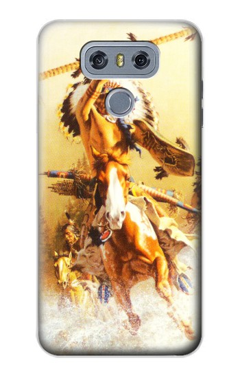 Printed Red Indian Warrior alcatel Hero 2 Case