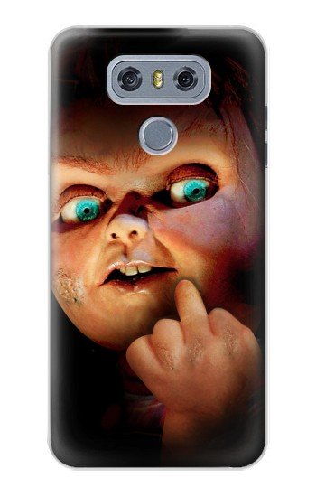 Printed Chucky Middle Finger alcatel Hero 2 Case