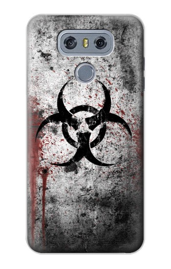 Printed Biohazards Biological Hazard alcatel Hero 2 Case