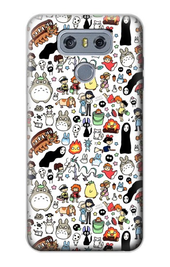 Printed Ghibli Characters alcatel Hero 2 Case