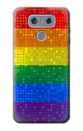 Printed Rainbow Gay LGBT Pride Flag alcatel Hero 2 Case