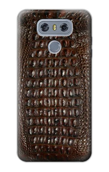 Printed Brown Skin Alligator Graphic Printed alcatel Hero 2 Case