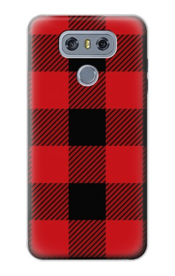 Printed Red Buffalo Check Pattern alcatel Hero 2 Case