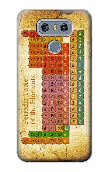 Printed Vintage Periodic Table of Elements alcatel Hero 2 Case