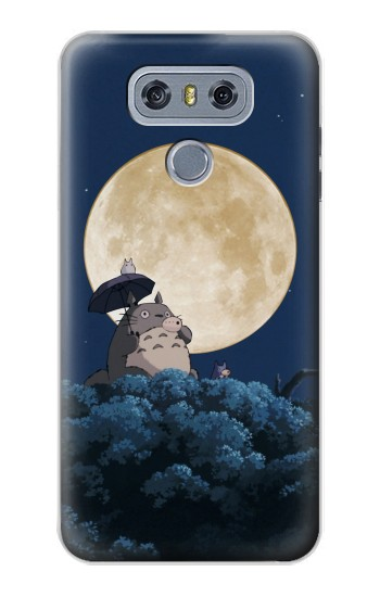 Printed Totoro Ocarina Moon Night alcatel Hero 2 Case