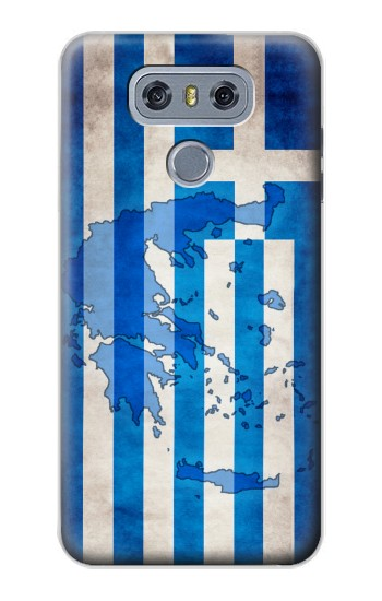 Printed Greece Map Flag alcatel Hero 2 Case