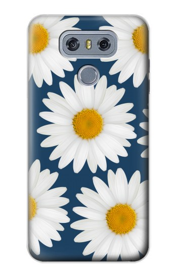 Printed Daisy Blue alcatel Hero 2 Case