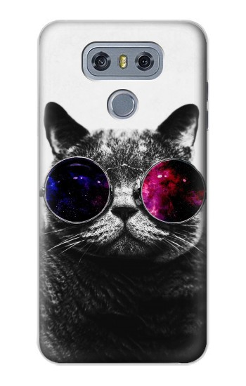 Printed Cool Cat Glasses alcatel Hero 2 Case