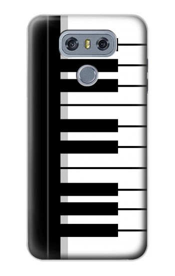 Printed Black and White Piano Keyboard alcatel Hero 2 Case