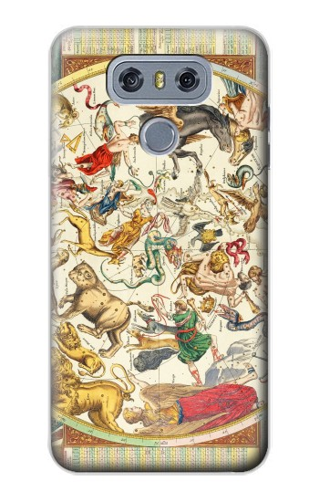 Printed Antique Constellation Map alcatel Hero 2 Case