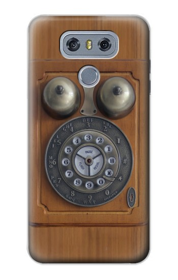 Printed Antique Wall Phone alcatel Hero 2 Case