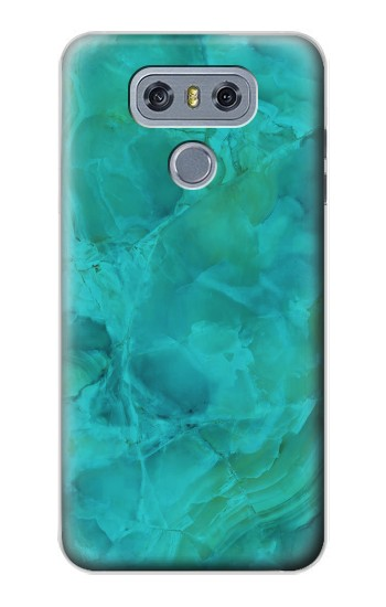 Printed Aqua Marble Stone alcatel Hero 2 Case