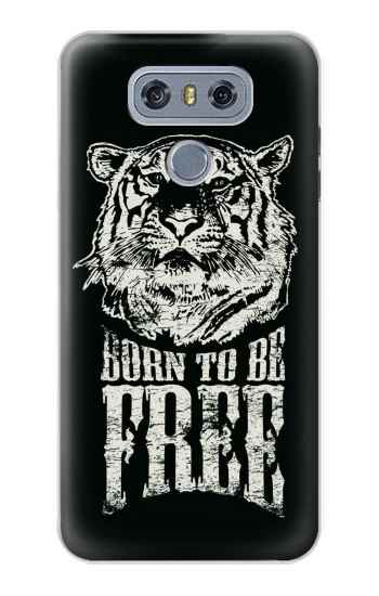 Printed Born to Be Free Tiger alcatel Hero 2 Case