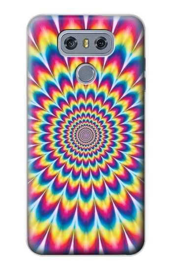 Printed Colorful Psychedelic alcatel Hero 2 Case