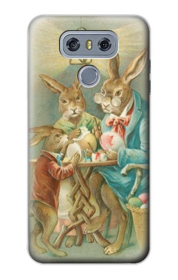 Printed Easter Rabbit Family alcatel Hero 2 Case